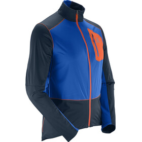 Salomon M's Equipe Softshell Jacket Big Blue-X/Blue Yonder/Vivid Orange